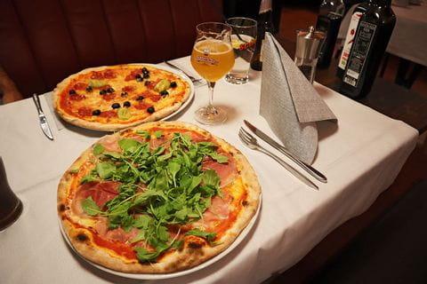 Pizza in Meran