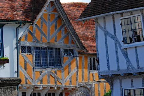 Historische Bauten in Lavenham