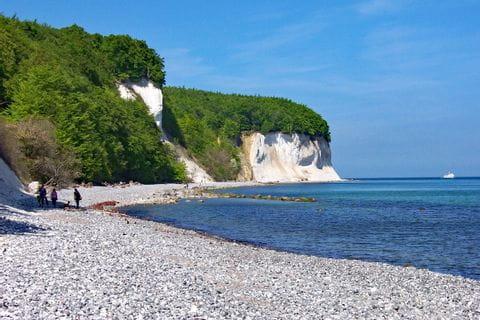 Cretaceous rocks on Rügen