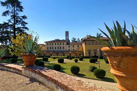 Gartenanlage der Villa Medici