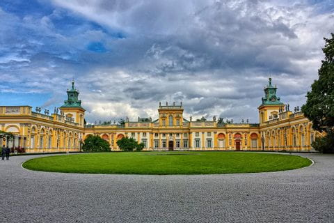 Palast in Warschau