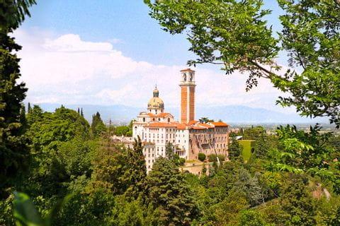 Gebäude auf dem Monte Berico bei Vicenza