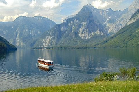 Shipping at Lake Königssee