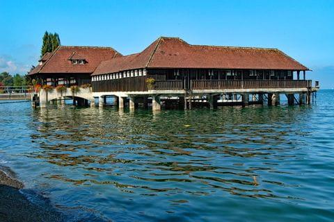 Das Wasserhaus in Rorschach am Bodensee