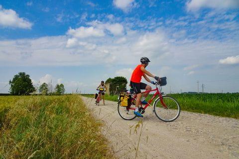 Impressionen vom Radweg nach Vicenza