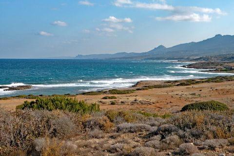 Cyprian coast line