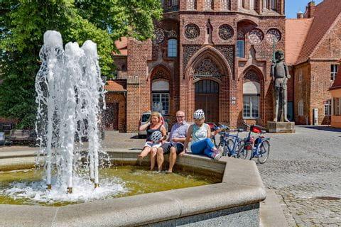 Radpause in Brandenburg