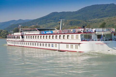Die MS Normandie auf der Donau