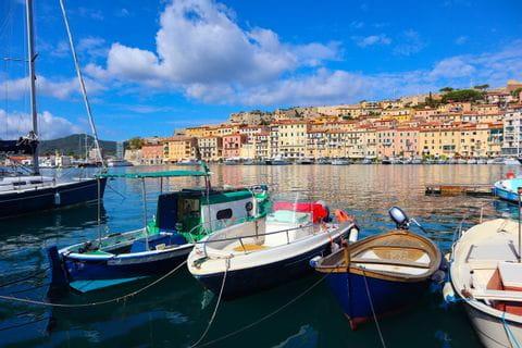 Elba Portoferraio Boote
