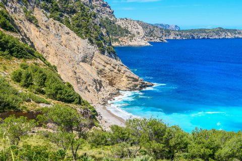 Strand Platja des Coll Baix Mallorca