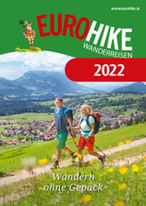 Wanderreisen Katalog 2022 Titelbild