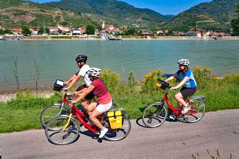 Danube Cycle Path at Spitz