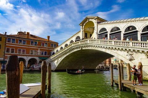 Rialtobrücke Venedig