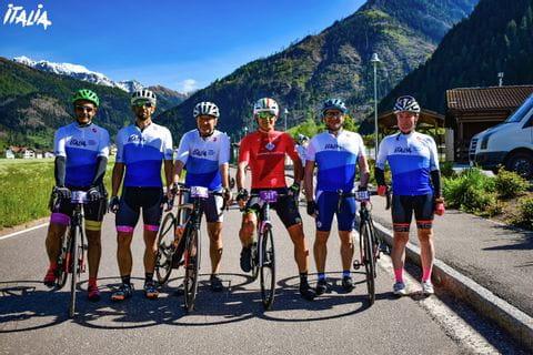 Gruppenfoto Giro d'Italia