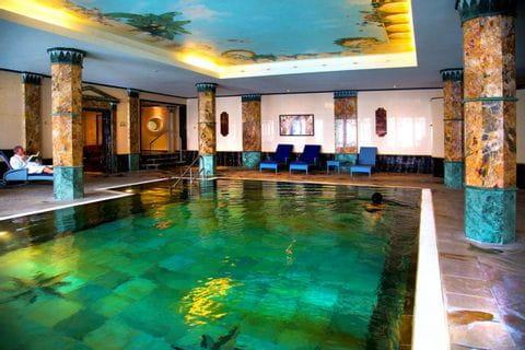 Pool of Häckers Grand Hotel