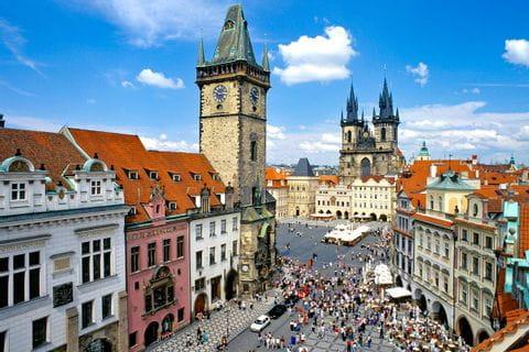 Blick auf die Altstadt von Prag