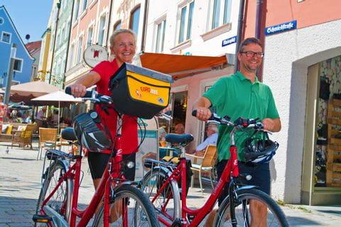 Bikers in Weilheim
