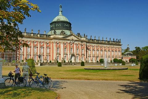 Schloss Potsdam Sternfahrt