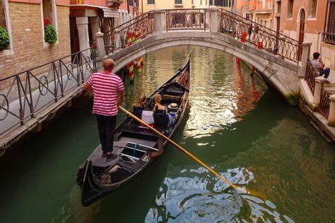 Venedig Gondoliere