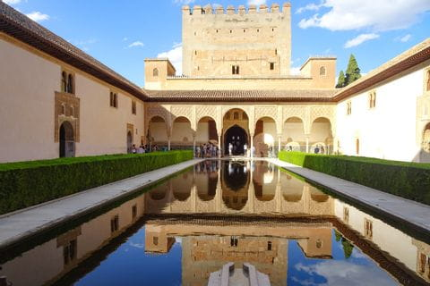 Myrtenhof bei Alhambra