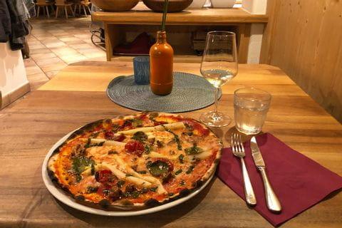 Köstliche Pizza in Italien
