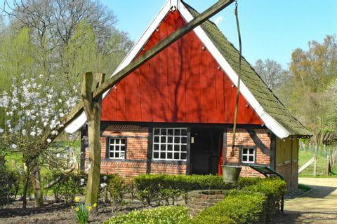 Fountain house in Münsterland
