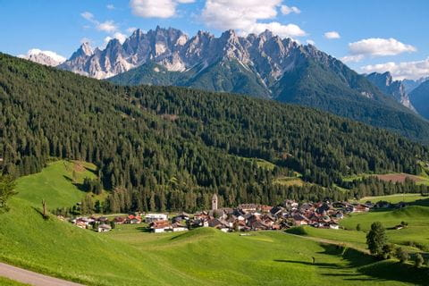 View over Toblach