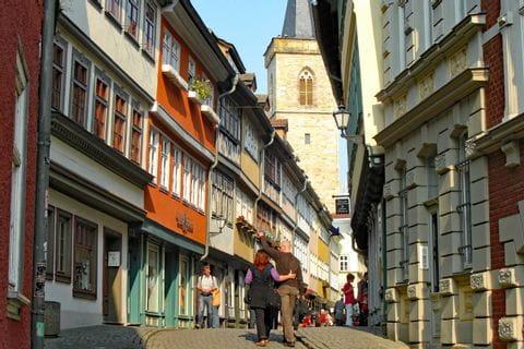Stadtzentrum in Thüringen