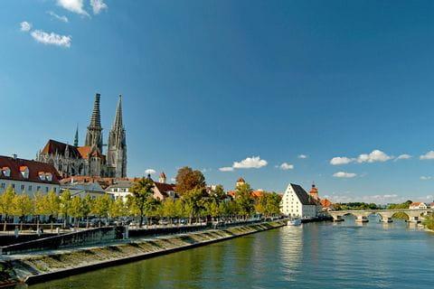Danube in Regensburg