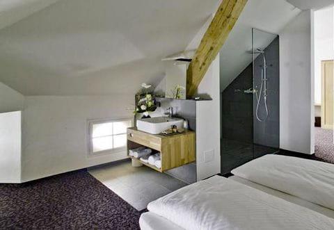 Sample room incl. bathroom Villa Waldkönigin