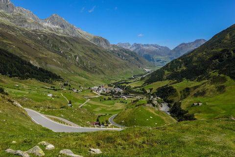 The Gotthard Pass