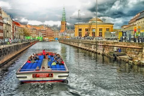 Canal Cruise in Copenhagen