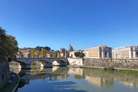 Engelsbrücke in Rom