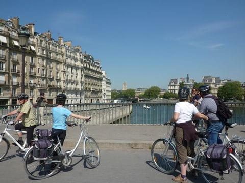 Radfahrer in Rennes