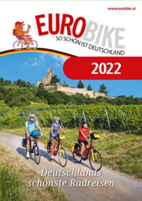 Radreisen Deutschland Katalog Titelbild