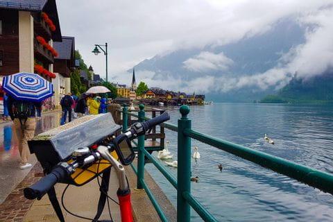 Fahrrad in Hallstatt