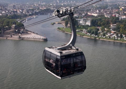 Funicular in Koblenz