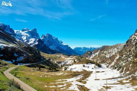 Passo Rolla auf der Giro d'Italia
