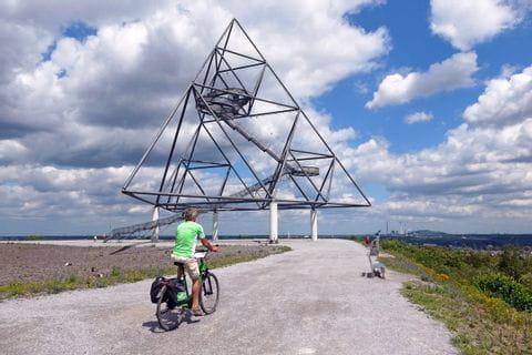 Radfahrer bei Bottrop
