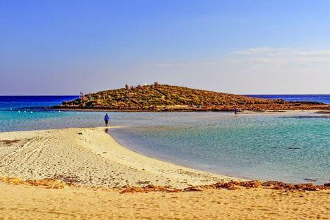 A walk on the beach in Cyprus