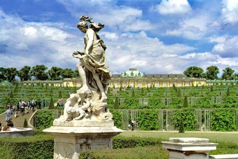 Castle Sanssouci in Potsdam