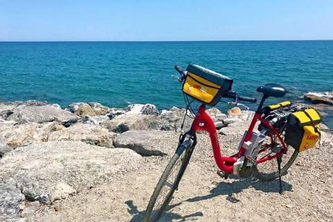 Eurobike Rad am Meer auf der Radtour von Turin nach Sanremo