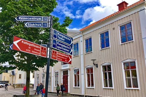 Signs in Kungsbacka