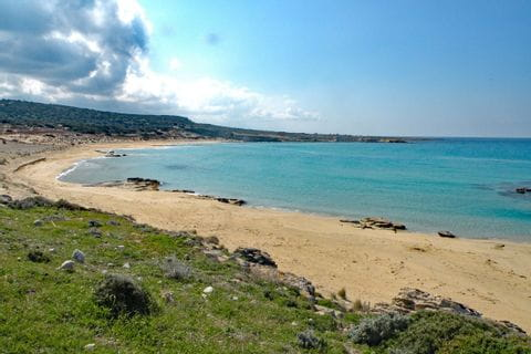 Türkis-Blaues Meer