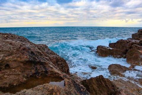 Castiglioncello Ausblick aufs Meer