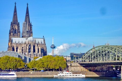 Cologne at Rhine