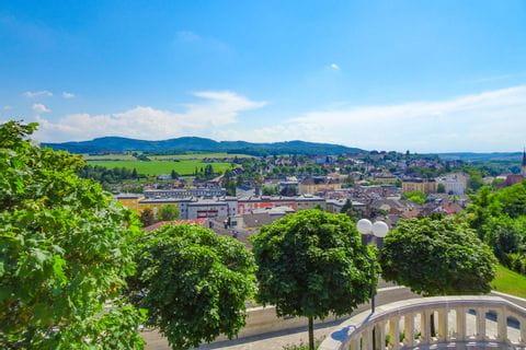 Schloss Stift Melk Aussicht
