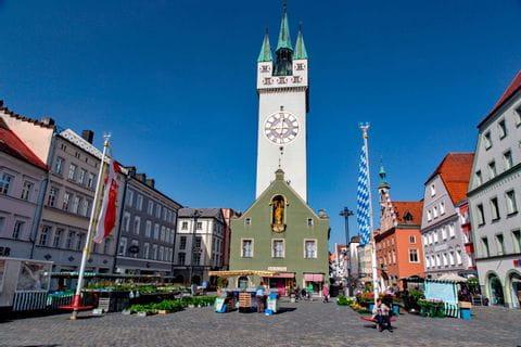 City center Straubing