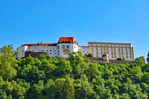 Blick auf die Festung Veste Oberhaus
