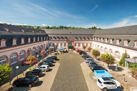 Aussenansicht Schlosshotel Weilburg